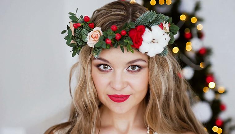 Jak být krásná při vánočním stole