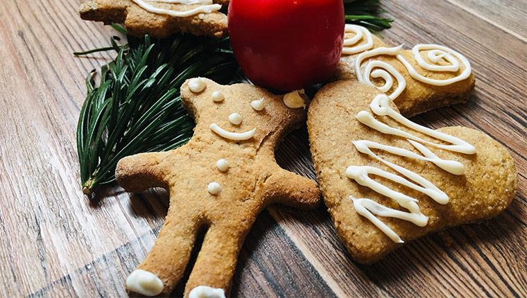 Upečte si na Vánoce chutné perníčky z žitné mouky