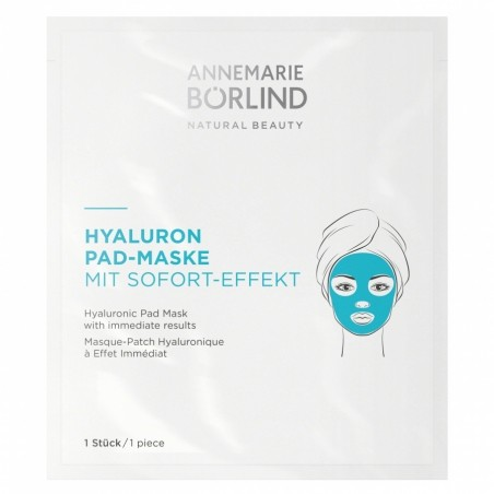 Hyalurónová obkladová maska na tvár