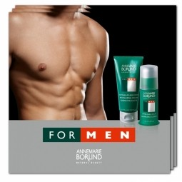 FOR MEN - Revitalizační krém + Balzám po holení - VZOREK