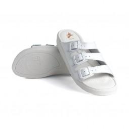 *Batz dámské zdravotní pantofle 3BCS White 39