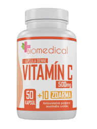 Vitamin C 500 mg 100 kps