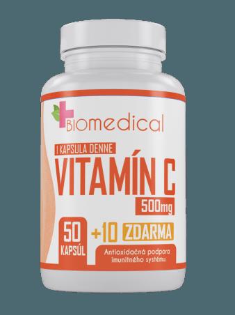 Vitamin C 500 mg 100 kps