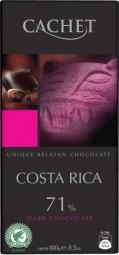 CACHET čokoláda hořká KOSTARIKA 71% 100g