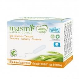 Tampony z organické bavlny Super Plus MASMA