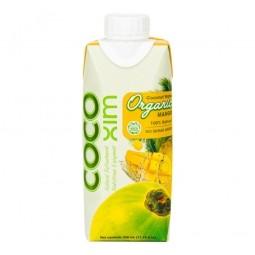 Voda kokosová mango 330 ml BIO COCOXIM