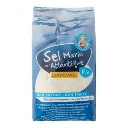 Sůl mořská jemná 1kg   DANIVAL