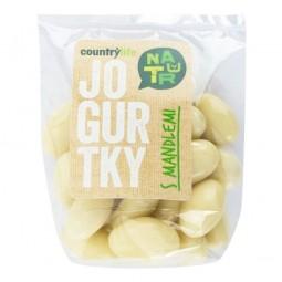 Jogurtky s mandlemi 100 g   COUNTRY LIFE