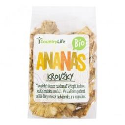 AKCE SPOTŘEBA: 31.10.2020 Ananas kroužky sušené 100 g BIO