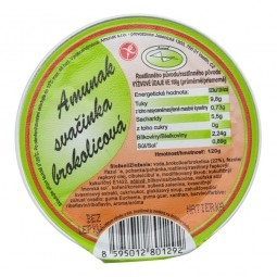 Svačinka brokolicová 120g   AMUNAK