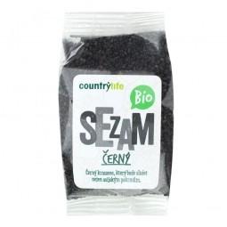 Sezam černý neloupaný 100 g BIO