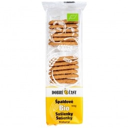 Sušenky špaldové natural 100 g BIO   DOBRÉ ČASY