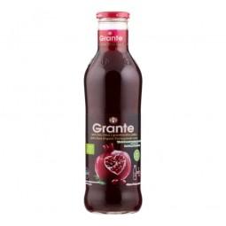 Šťáva z granátového jablka 100 % 750 ml BIO   GRANTE