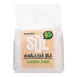 Sůl himálajská bílá jemná 500g   COUNTRYLIFE