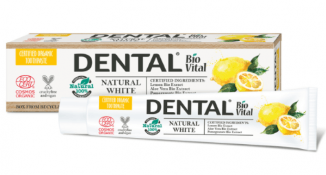 Zubní pasta Natural White biovital Deba 75 ml