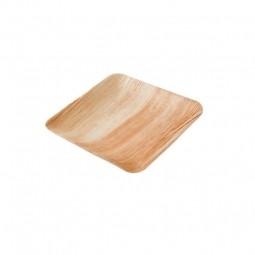 Palmový talíř čtvercový 23x23 cm