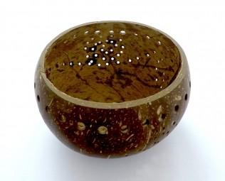 EatGreen Kokosová miska s dírkami 13 cm