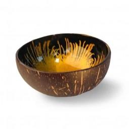 EatGreen Kokosová miska zlatá 13 cm