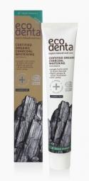 Organická bělící zubní pasta s černým uhlím, aloe vera a mátou 75 ml