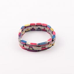 Náramek na ruku - Beautiful Rainbow s krabičkou
