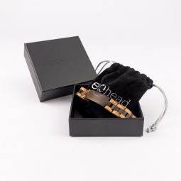Náramek na ruku - Dark Brown Ebony Line s krabičkou