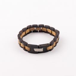 Náramek na ruku - Double Ebony Oak Line s krabičkou