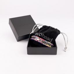 Náramek na ruku - Ebony Rainbow s krabičkou