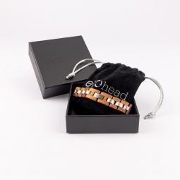 Náramek na ruku- Mahagony Power s krabičkou