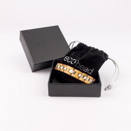 Náramek na ruku - White Monk s krabičkou