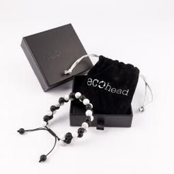 Náramek - Black and White s krabičkou