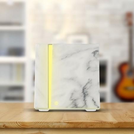 Difuzér se zvlhčovačem vzduchu 200 ml white marble grain
