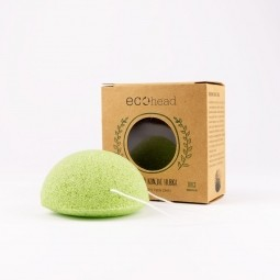 Konjac houbička - green