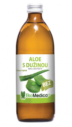 Šťáva Aloe s dužinou 99,8% - 500 ml