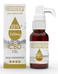 CBD konopný olej 25% full spectrum