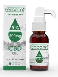 CBD konopný olej 5% full spectrum