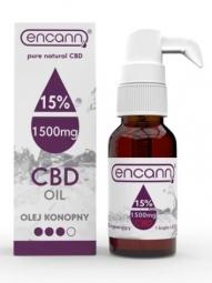 CBD konopný olej 15% full spectrum