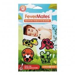 FeverMates monitors nalepovací teploměry pro děti 8 ks