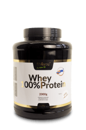 Fit4you Whey Protein 100% 1kg Vanilka