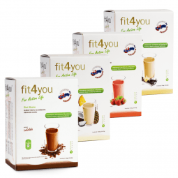Fit4you Diet Shake Piňa Colada 10x33g