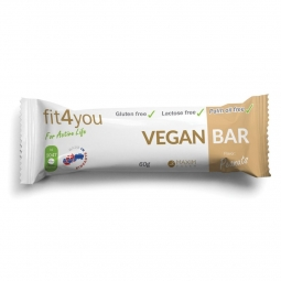 Fit4you Vegan Bar Peanuts 60g - tyčinka