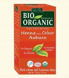 Akce spotřeba: 08/2021 Henna barva na vlasy Kaštanová