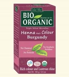 Henna barva na vlasy Burgundská