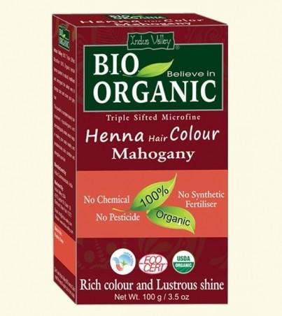 Henna barva na vlasy Mahagonová