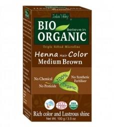 Henna barva na vlasy Hnědá