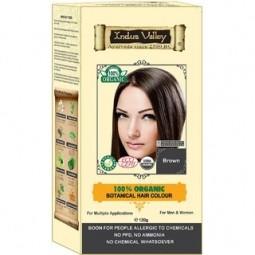 Akce spotřeba: 08/2021 100% Rostlinná, 100% Organická barva na vlasy Hnědá