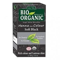 Akce spotřeba: 08/2021 Henna barva na vlasy Jemná černá