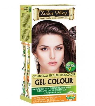 Gelová barva na vlasy Mahagonová 5.4