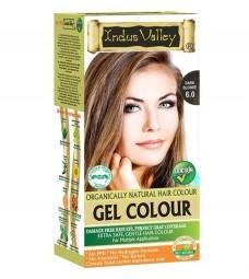 Gelová barva na vlasy Tmavá Blond 6.0