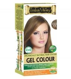 Gelová barva na vlasy Střední Blond 7.0