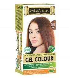 Akce spotřeba: 08/2021 Gelová barva na vlasy Střední Měděná Blond 8.4